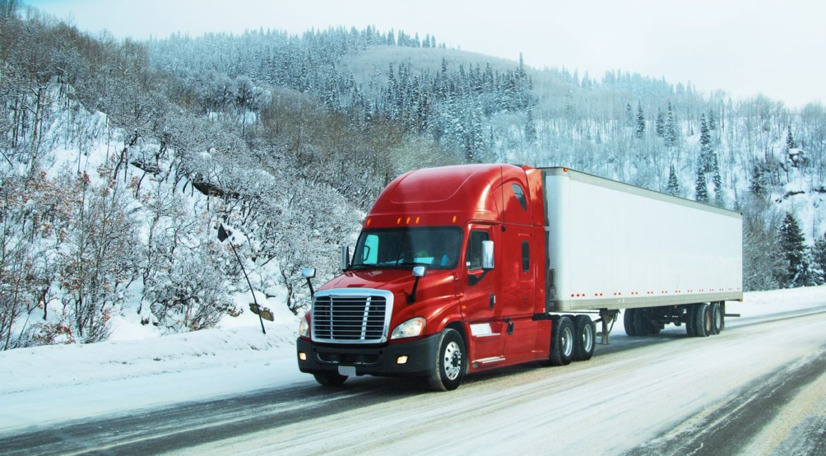 How to Stay Warm When Trucking in the Winter